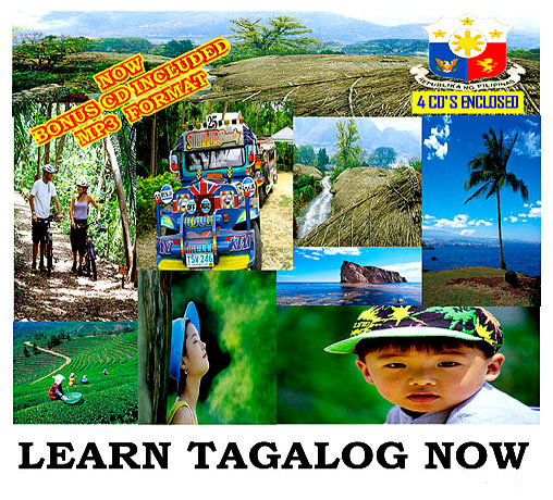 Tagalog Language Course 4 CD